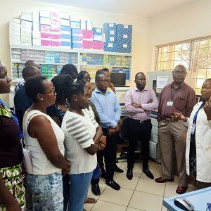 KEMRI Graduate School Students at KEMRIs Centre  for Global Health Research(CGHR), Kisian, Kisumu