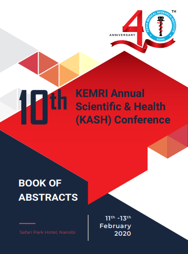 KASH 10 Book of Abstracts Cover